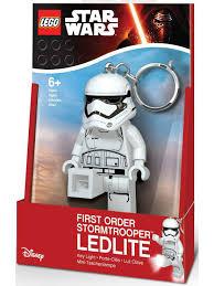 <b>Брелок</b>-фонарик для ключей <b>LEGO Star Wars</b>-Штурмовик ...