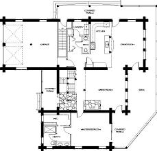 Log Home Floor Plans   Montana Log Homes Floor Plan   Montana Log Homes Floor Plan   Main Level