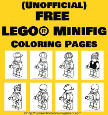 Small Picture Free LEGO Coloring Pages