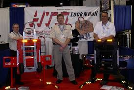 trade show information hts systems lock n roll llc hand truck gary o carl boettcher michael vacendak ntea work truck show atlanta