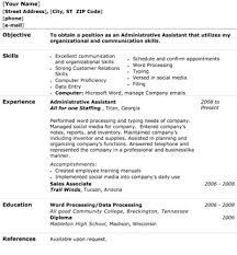 Administrative Assistant Resume - The Resume Template Site Administrative Assistant Resume
