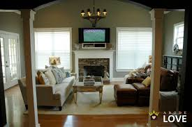 ideas country living rooms