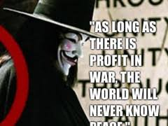As Long As There Is Profit In War The World Will Never Know Peace ... via Relatably.com