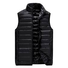 <b>Men</b> Solid Outwear Vest Jacket Top Blouse <b>Autumn Winter Plus</b> Size ...