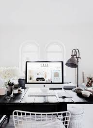 stylish black and white home offices that will amaze you black and white home office