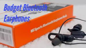 <b>Mi Sports Bluetooth Earphones</b> Basic Review - YouTube