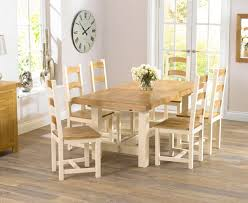 cream compact extending dining table:  ideas about oak dining table on pinterest dining tables dining furniture and dining rooms
