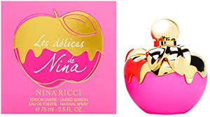 <b>Nina Ricci Les</b> Delices de Nina Eau de Toilette Spray 75 ml ...