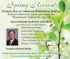 spring revival fellowship baptist church the check out this flyer