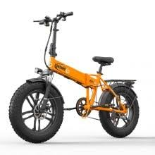 <b>ENGWE EP</b>-<b>2 500W Folding</b> Fat Tire Electric Bike with 48V 10Ah ...