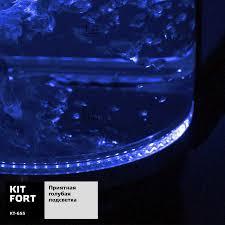 Купить <b>Чайник электрический KITFORT</b> КТ-655, черный в ...