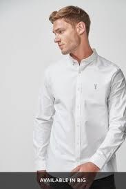 <b>Mens Casual Shirts</b> | Plain, Oxford & Denim <b>Casual Shirts</b> | Next UK