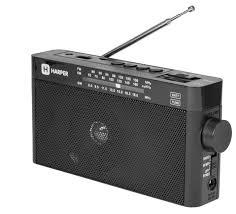 Купить <b>Радиоприемник HARPER HDRS-377</b> черный по низкой ...
