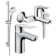 Набор <b>смесителей</b> для ванной <b>HansGrohe Logis</b> 3в1 купить ...