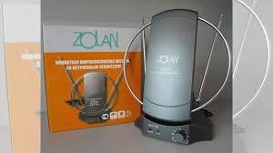 <b>Антенна тв комнатная Zolan</b> FB-029 с усилителем купить в ...