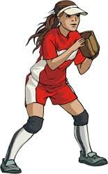 Image result for girls softball graphic