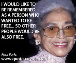 Image result for women's inspirational quotes rosa parks