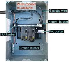 how to install a subpanel how to install main lug Sub Panel Wiring Diagram Sub Panel Wiring Diagram #25 sub panel wiring diagram for garage