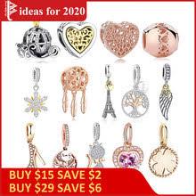 Выгодная цена на 925 Sterling Gold <b>Charms</b> for Women ...