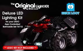 Brick Loot <b>LED Lighting</b> Kit for Lego <b>App Controlled</b> Batmobile ...