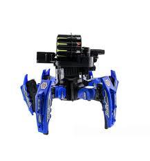 <b>Радиоуправляемый робот</b>-паук <b>CS Toys</b> space warrior с пульками ...