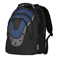 <b>Рюкзак WENGER</b> Ibex <b>17</b>, черный/синий, 23 л — купить в ...