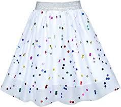 White - Skirts & Skorts / Girls: Clothing - Amazon.co.uk