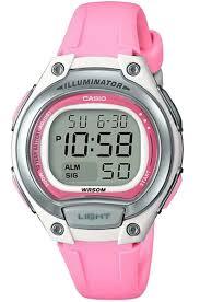 Электронные кварцевые женские наручные <b>часы Casio</b> LW-203-<b>4A</b>