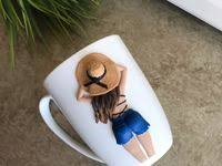 305 Best Lovely mug images in 2020 | Polymer clay crafts, Clay ...