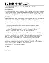 best consultant cover letter examples livecareer edit