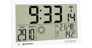Купить <b>метеостанцию настенные часы Bresser</b> MyTime Jumbo ...