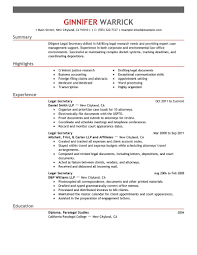 law resume examples law sample resumes livecareer legal secretary resume example