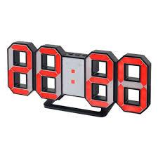 <b>Часы</b>-будильник <b>Perfeo LUMINOUS</b>, LED, черный корпус ...