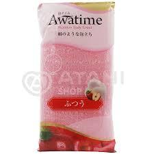 OHE <b>Мочалка для тела средней</b> жесткости, розовая Awa Time ...
