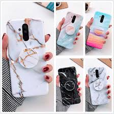 Marble Case on For <b>Coque Huawei</b> Mate 20 Lite Case <b>Soft TPU</b> ...