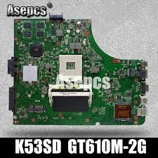 2018 Asepcs K53SD Laptop <b>Motherboard</b> For ASUS K53SD K53E ...