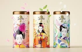 Жестяные банки <b>Saito</b>: Графический дизайн упаковки и этикетки ...