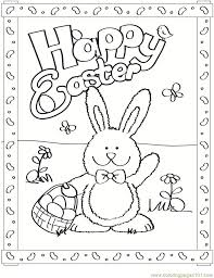 Small Picture Free Easter Bunny Coloring Page Free Easter Bunnies Coloring