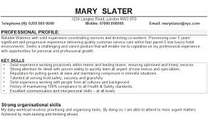 Sample CV for Waitresses Sample CV for waitresses