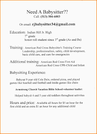 9 babysitter resume skills nypd resume tuesday 3rd 2017 resume template