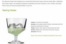 Hapsburg Absinthe Cream Liqueur - Buy Irish Cream Liqueur Product ...