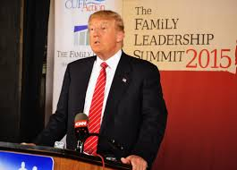 donald trump doubles down on mccain criticism trump appearance donald trump answers questions from the media at the family leadership summit in ames