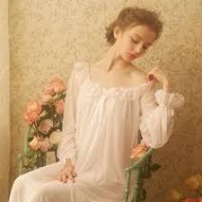 <b>Cotton Nightdress</b> Ladies Sweet Casual <b>Sleep Dress Comfortable</b> ...