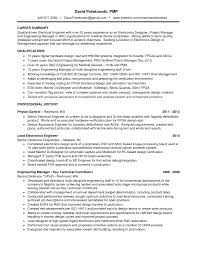 senior project manager resume sample examples resumes retail senior project manager resume sample great electrical engineer project manager resume example expozzer great electrical engineer