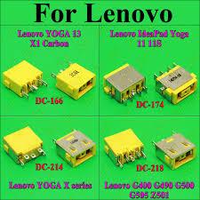 ChengHaoRan <b>1X DC Power Jack</b> Connector for LENOVO G400 ...