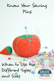 Sewing <b>Pins</b> – Knowing the Different Types -- CreateForLess