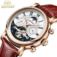 <b>KINYUED</b> Top Brand <b>Mens Mechanical Watches</b> Automatic ...
