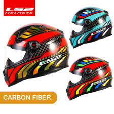 <b>New arrival LS2</b> 12K motorcy <b>helmet</b> carbon fiber Full face racing ...