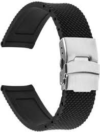invella Black 22mm <b>Smart Watch Strap</b> Price in India - Buy invella ...