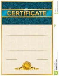 elegant template of certificate diploma stock vector image elegant template of certificate diploma